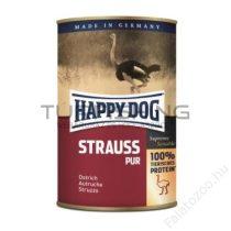 Happy Dog Strauss Pur - 12x400g