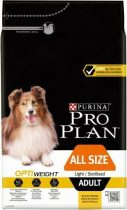 ProPlan Adult All Sizes Optiweight - csirke - 14kg