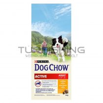 Dog Chow Active - csirke - 14kg