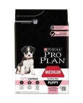 ProPlan Medium Puppy Optiderma - lazac - 12kg