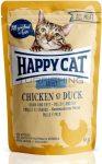 Happy Cat All Meat Adult Alutasakos Kacsa, Csirke - 24x85g