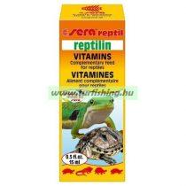 Sera Reptilin Vitamin Hüllők számára 15 ml.