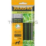 JULIUS K-9 Dental Sticks 70g - rozmaringgal