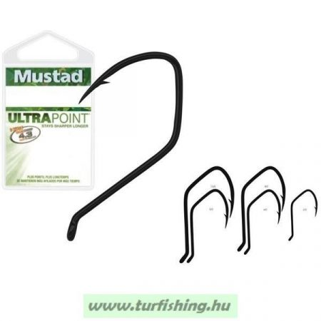 Mustad Ultra Point Catfish 412NP-TF - Teflon bevonattal