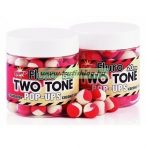 DYNAMITE BAITS TWO TONE STRAWBERRY & COCONUT CREAM FLURO POP-UP BOJLI 15mm
