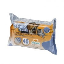 Ferplast Genico Fresh Dog/Cat Talco - X40 Törlőkendő