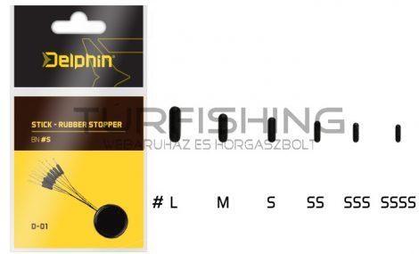 Delphin Stick Gumi Stopper