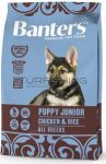 Visan Banters Dog Puppy&Junior csirke & rizs 30/18 - 3-15Kg