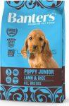 Visan Banters Dog Puppy&Junior bárány & rizs 30/18 - 3-15Kg