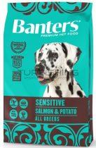 Visan Banters Dog Sensitive lazac & burgonya 28/17 - 3-15Kg