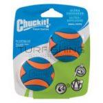 Chuckit! Ultra Squeaker Ball Duo Gumilabda 2 db - Csipogó hanggal - Small