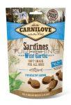 Carnilove Dog Semi Moist Snack - szardínia fokhagymával - 200g