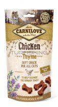 Carnilove Cat Semi Moist Snack - csirke kakukkfűvel - 50g