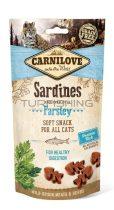 Carnilove Cat Semi Moist Snack - szardínia petrezselyemmel - 50g