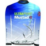 Mustad MCTS03-BU-M / Day Perfect Shirt Tournament Blue