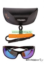 Savage Eyes Polarized Sunglasses - Amber (Sun And Clouds)