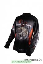 Savage Gear Tournament Jersey Pike/Zander/Perch Black
