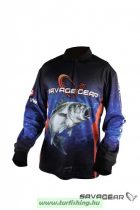 Savage Gear Tournament Jersey Seabass/Tuna Blue