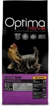 Visán Optimanova Dog Adult Mini - csirke, rizs - 0,8-2-12kg