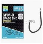 Preston  GPM-B SPADE END HOOKS BARBLESS