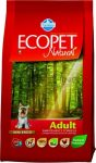 Ecopet Natural Adult - csirke - 14kg