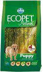 Ecopet Natural Puppy - csirke - 14kg