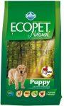 Ecopet Natural Puppy - csirke - 14kg