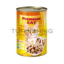 Premium Cat Konzerv - szárnyas - 415g