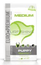 Euro Premium Medium Puppy Digestion+ - vadhús, rizs - 2,5-10kg