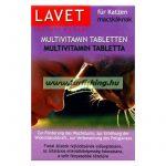 Lavet Multivitamin tabletta macskáknak 50db