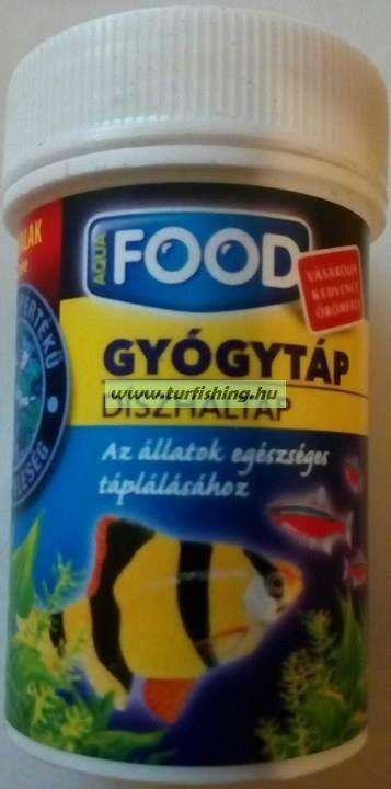 AquaFOOD Díszhaltáp Gyógytáp 35 ml